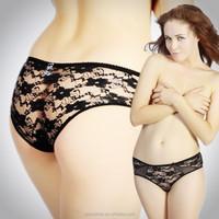 2015 new lace transparent sexy women's underwear briefs wholesale