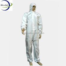 Working Coverall, Disposable Asbestos Removal Coverall