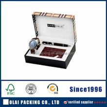 Popular Handicrafted Mans Watch Pen Wallet Gift Set