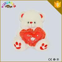 2015 Wholesale Soft Stuffed Plush Animal Toys Bear with PP Cotton