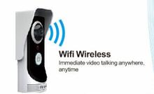 2MP 160degree camera,Real time video talking,waterproof,wifi doorbell camera