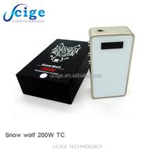 2015 authentic vaporizer sigelei Temp Control box mod 150w ipv 4 snowwolf 150 tc with fast shipment 2015 temp control