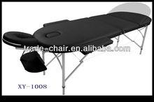 3 section aluminum portable massage table