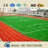 2015 new eco friendly Polyurethane synthetic IAAF running tracks materials rubber track