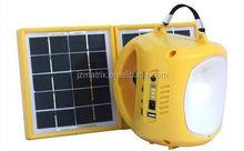 Adjustable lightness solar powered led work light