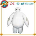 Hi CE 2015 caliente venta gran héroe 6 baymax traje de la mascota, Carácter baymax de la mascota para adultos y niños