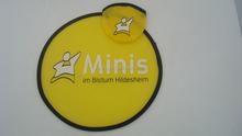 Funny plastic frisbee