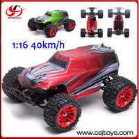 4WD Remote Model Car Cross Country 2.4G Monster Truck RC Buggy Toys 40km/h Electric Car 1:16