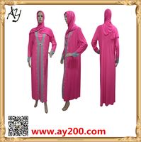 High quality and simple Abaya for muslim lady