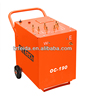 AC arc hdpe pipe butt welding machine