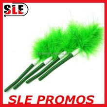 Cute green Creative quill-pen feather fluffy pen