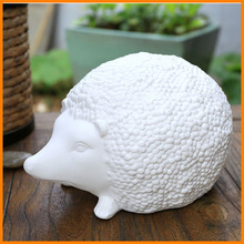 zakka wind ceramic ornaments crafts creative home hedgehog animal ornaments New Year promotional gifts