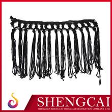 wholesale tassel fringe for dresses/decorative tassel