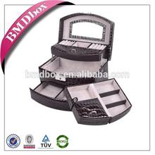 Garantia de couro MDF caixas decorativas para armazenamento atacado comércio
