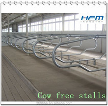 Cattle farm equipment, Free stalls for cows Chinese Company