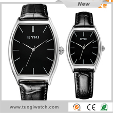 New Quartz High Quality Lether Straps Couple Lover Watch Fashion Wholesale EYKI Brand