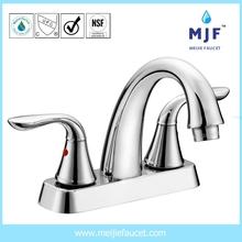 CUPC UPC CSA Ceramic Two Handle Lavatory Faucet CP/BN/ORB Finishing (4101-0481)