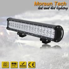108W Straight Light Bar Flood Spot Combo Beam 12V Waterproof LED Light Bar