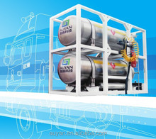 Hot selling LNG Cylinder, LNG cylinder for vehicle, LNG storage tank 275L