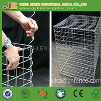 1mx0.5mx0.5m Gabions Application and Welded Mesh Type gabion box direct suppy to Europe market