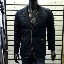 venta al por mayor baratos chaquetas de cuero acolchado chaqueta para hombre