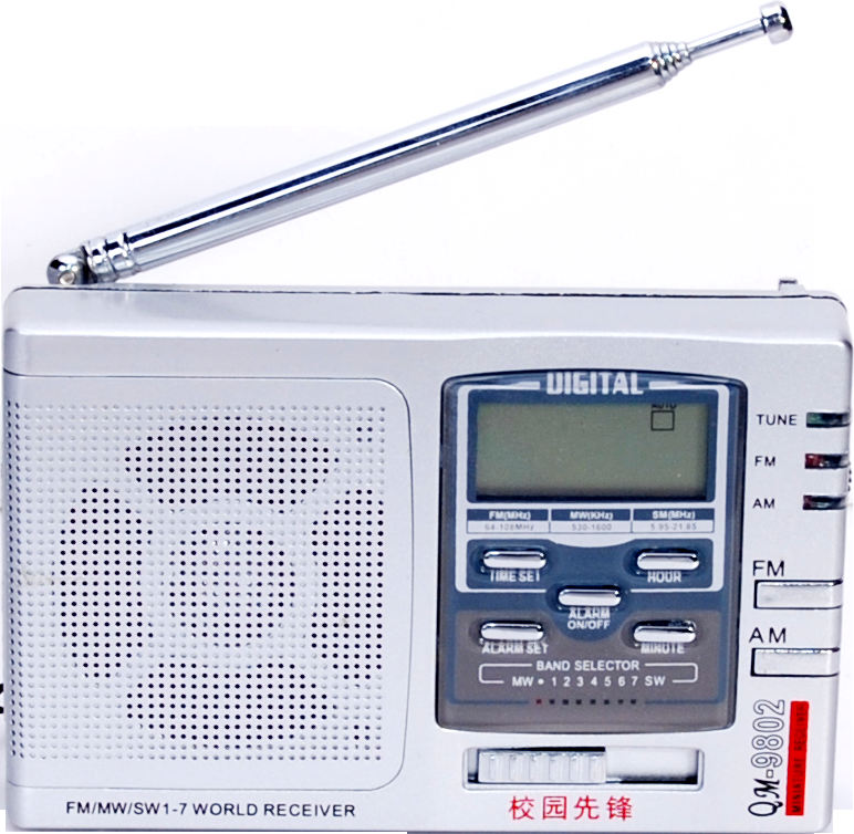 Scanner digitale radio el-9802 portatile multi banda radio con display digitale