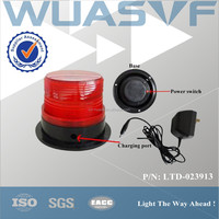 rechargeable led warning light for car roof