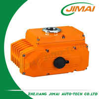 Good service factory directly wenzhou zhengte 3 way npt ball valve electric actuator