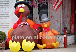 2013 Inflatable turkey for advertising