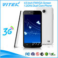 Sitio Web Alibaba Smartphone Chino Barato 4.5 Pulgadas Doble Núcleo WCDMA GSM 3G