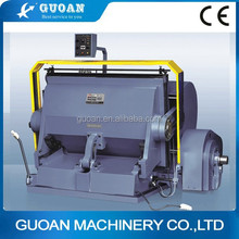 ML-1100/1200/1500 High Speed and Good Quality Manual Die Cutting Machine