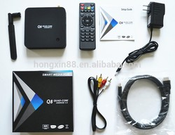 android tv box firmware android box tv RK3288 High Quality Q8 Tv Box H.265, 2GB/8GB, Bluetooth 4.4 decoder box cable tv