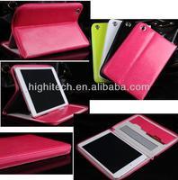 Luxury Zipper Leather Case Pouch Sleeve For Apple ipad mini Retina Display