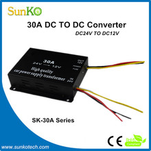 30A buck converters High Quality 12 volt transformer power supply Good step down voltage converter CE RoHS Compliant SunKo