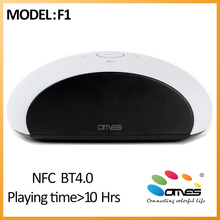 High End Quality OMES F1 Bookshell Home Deco unique design Wireless Bluetooth speaker subwoofer