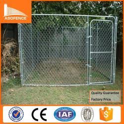 Heavy duty galvanized metal dog kennels / cheap chain link dog kennels metal
