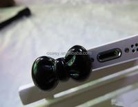 Cute Bow Headphone Dust Plug For Samsung Galaxy S6