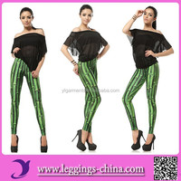 2015(DK054)3D Printed High Qualtiy Girls Churidar Leggings