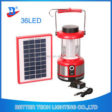 36led Camping Solar Emergency Lantern with 10 in 1Phone charger