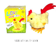 new design plush stuffed promotional chicken soft toy with EN71