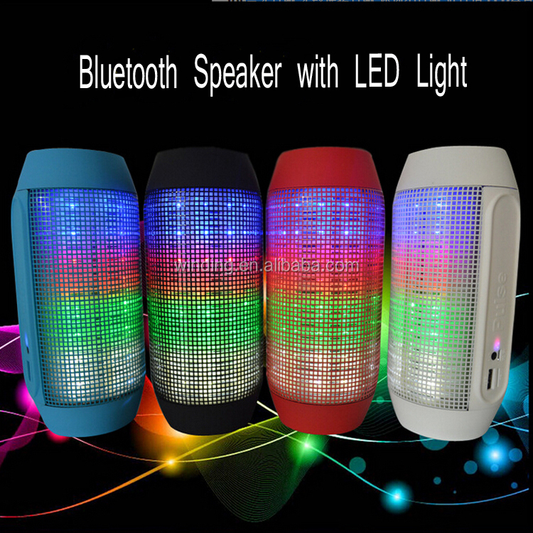 led pulse wireless bluetooth speaker for party music with. Black Bedroom Furniture Sets. Home Design Ideas