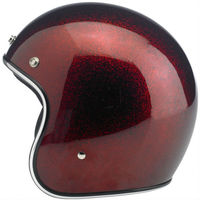 hot sale reddish brown motorcycle helmets for decoration