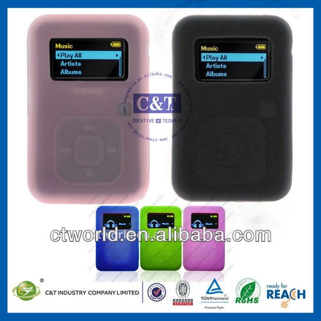 C&T Classics MP3 Player Silicone case cover skin For SanDisk...