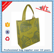 OEM factory most popular non woven shopping tote bag with laminated