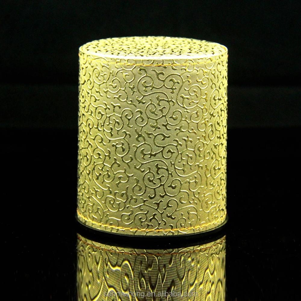 boa qualidade custom copo de dados couro plástico com dados normais