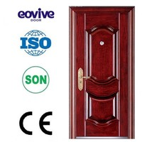 Outside high security lowes metal double doors exterior