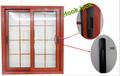 Vidro temperado revestimento de alumínio em pó grills cores do windows
