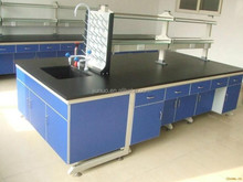 Guangzhou Chemistry laboratory furniture steel wooden experiment table