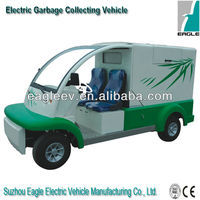 Electric mini garbage collecting car, CE approved