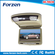 2014 new 9 inch headrest dvd player roof mount ,oem,free sample